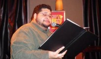 Rich Villar (a Latino) Reading A Big Ass Book