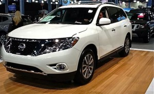 Pathfinder White 300x183 Looking For A New Family Car? The 2013 Nissan Pathfinder Just Might Be It...