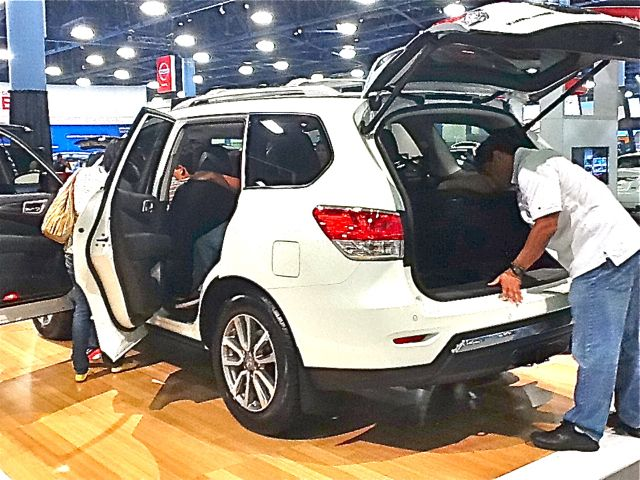 Popular Pathfinder at Auto Show Looking For A New Family Car? The 2013 Nissan Pathfinder Just Might Be It...