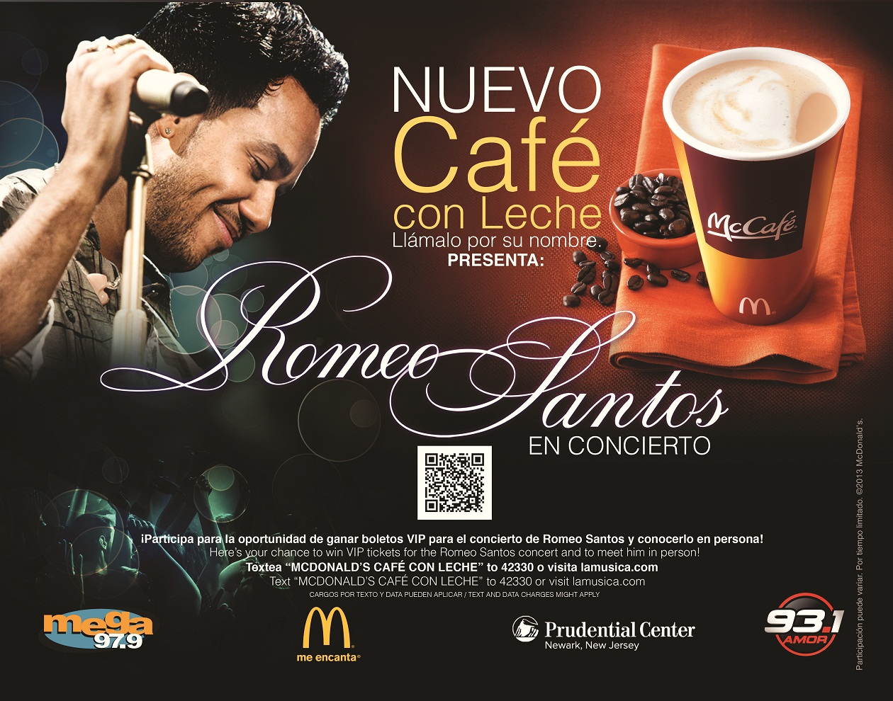 Cafe con leche sweepstakes trayliner