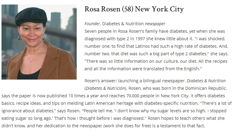Doing Well and Doing Good  12 People With Diabetes Who Are Helping Others  Diabetes Forecast Magazine