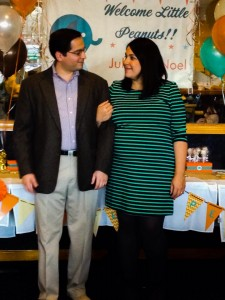 Claude and I, Baby Shower