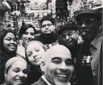 Students From The Capicu School of Poetic Arts pay San German Record Store a visit in 2014