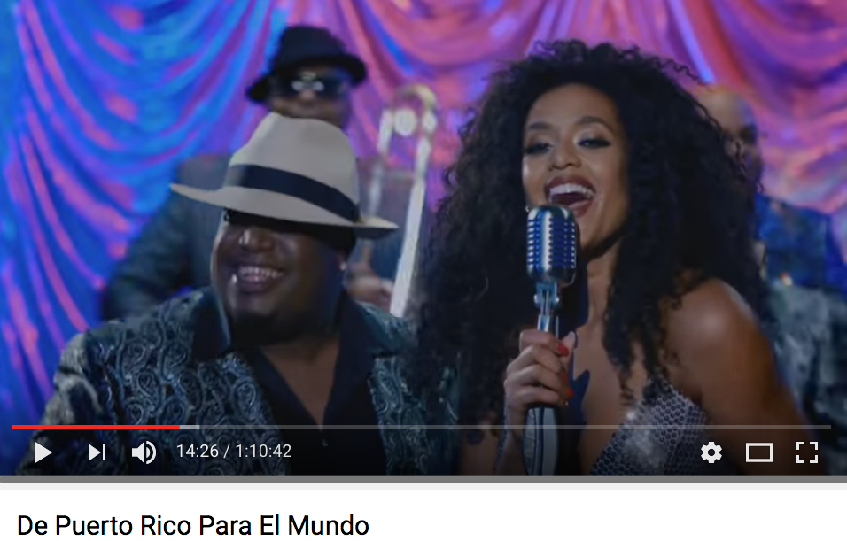 "El Tribu De Abrante & Jeimy Osorio sing ""I Like It Like That"""