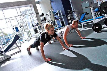 Personal Training at a Gym - Pushups Category:...